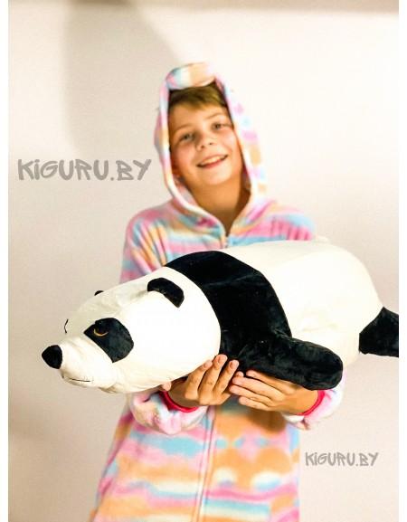 Подушка Панда с пледом