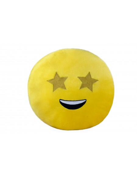 Подушка смайлик звездный